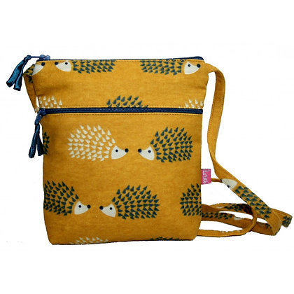 Hedgehog mini bag in yellow