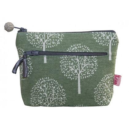 Twin zip mulberry purse