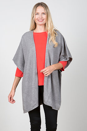 Cosy cover up knit  in grey