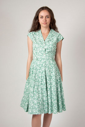 Cycle  shirt dress in mint green