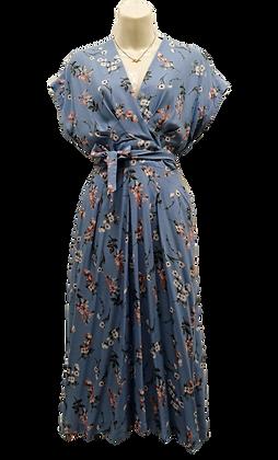 Kimberly dress in sky blue