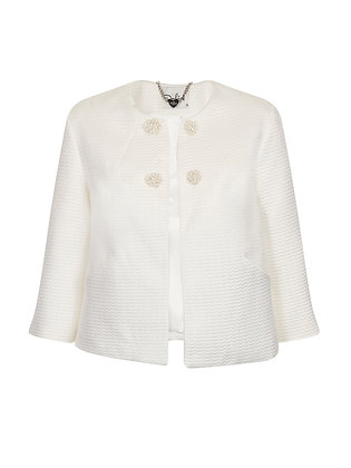 Cassidy jacket in white