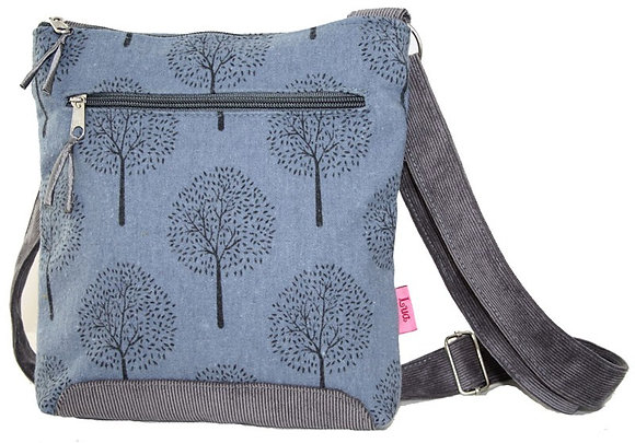 Mulberry crossbody bag in soft blue
