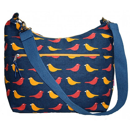 Birdie sling bag in red/yellow