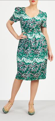 Monet dress in green