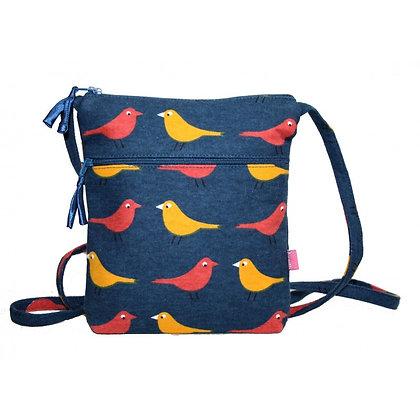 Birdie mini bag in denim