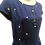 Thumbnail: Jill polka dot dress in navy