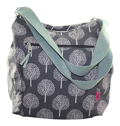 Mulberry slouch bag in soft grey