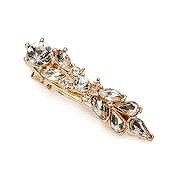 Antique crystal hairclip