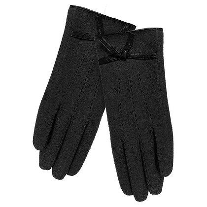Lila gloves in black