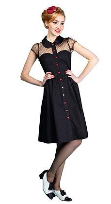 My Valentine dress in black