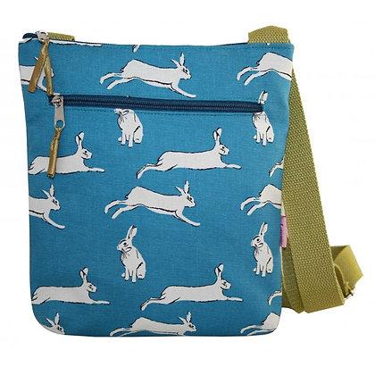 Hare print crossbody bag