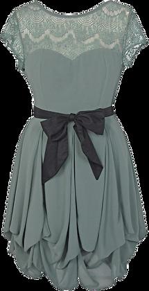 Darcie dress in sage