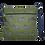 Thumbnail: Zebra messenger bag in olive