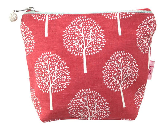 Mulberry cosmetic purse in coral