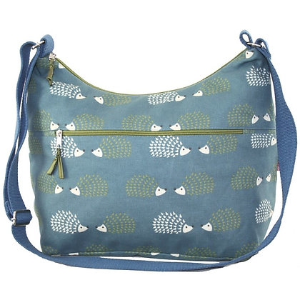 Hedgehog print sling bag