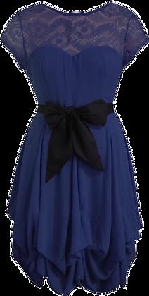 Darcie dress in navy