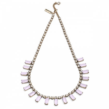 New! Pale pink 1950's bar style necklace
