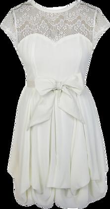Darcie dress in ivory
