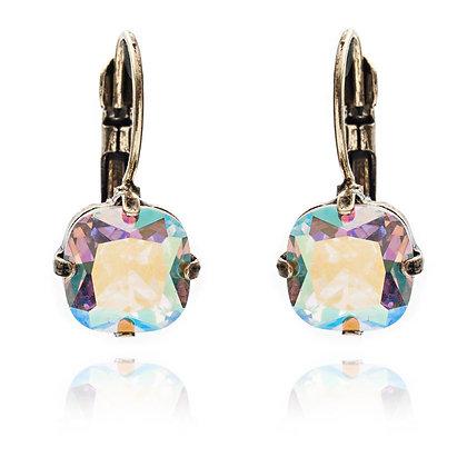 Shimmer crystal earrings