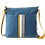 Thumbnail: Messenger bag in denim with stripes