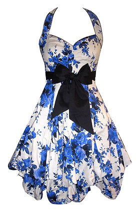 Portia dress in blue