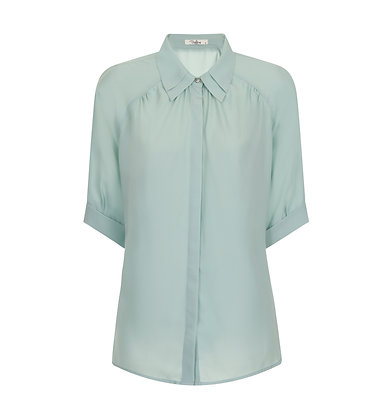 Harrie shirt in turquoise