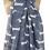 Thumbnail: Sausage dog print scarf in blue
