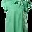 Thumbnail: Pindot blouse in green