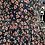 Thumbnail: Ditsy print shirt dress in navy