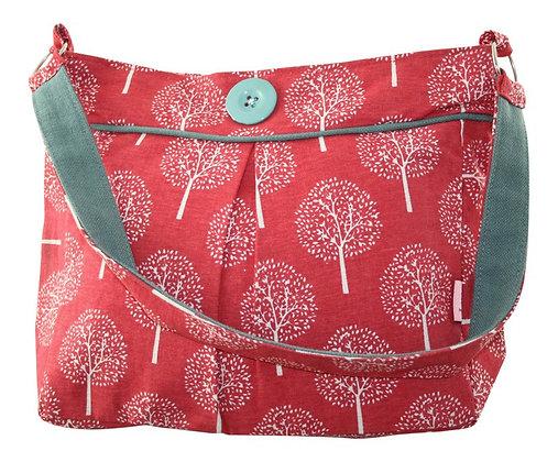 Mulberry shoulder bag in red