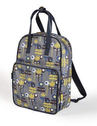 Scandi oilcloth backpack