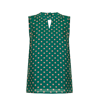 Matilda top in green