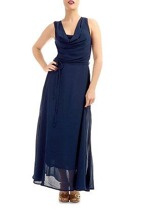 Lorna maxi dress in navy