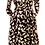 Thumbnail: Tulips dress in black and cream