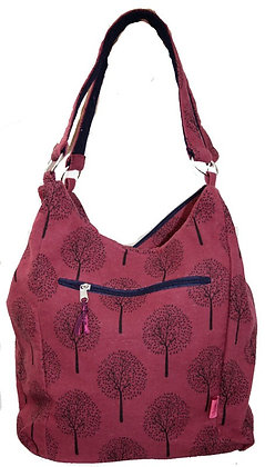 Mulberry slouch bag in plum