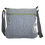Thumbnail: Stripes messenger bag in grey