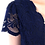 Thumbnail: Swing lace gown in navy