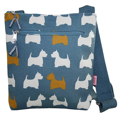 Scottie dog crossbody bag