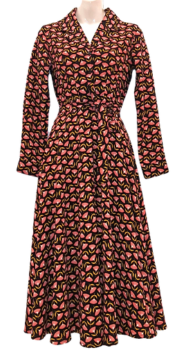 Thistle dress in black