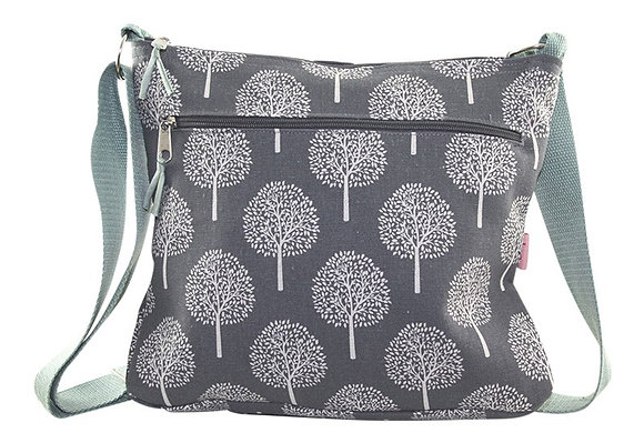 Mulberry messenger bag in grey