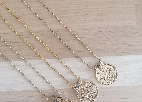 Collier Médaille Jasmine - La2l