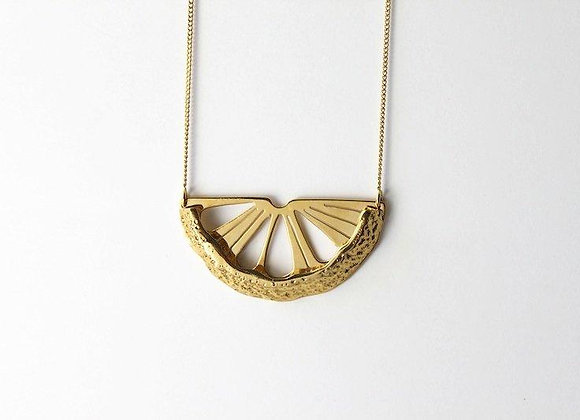 Collier Citrus métal - Virginie Fantino