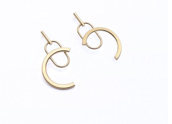 Boucles d'oreilles Brion I - Marthe Cresson