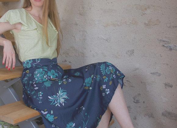 Jupe Vickie fleurie