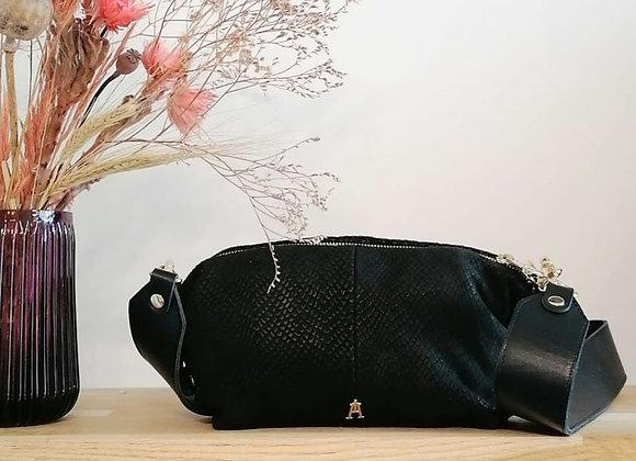Doudoune noir  - Craie