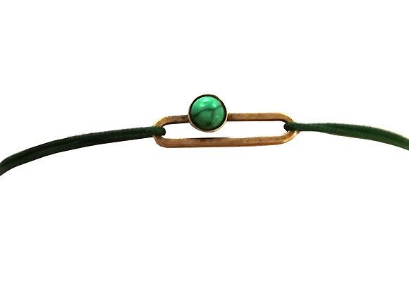 Bracelet cordon Calice
