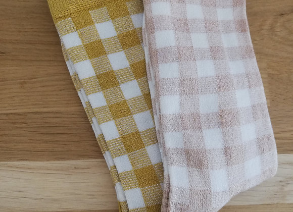 Chaussettes vichy