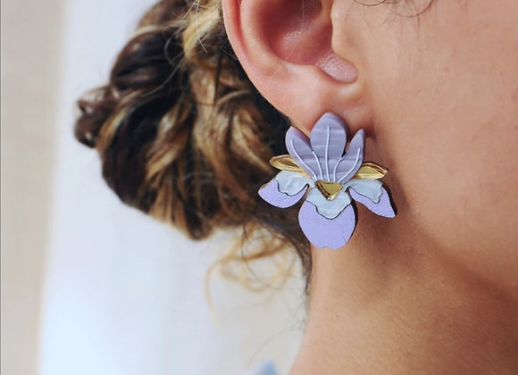 Boucles d'oreilles Iris - Wolf and Moon