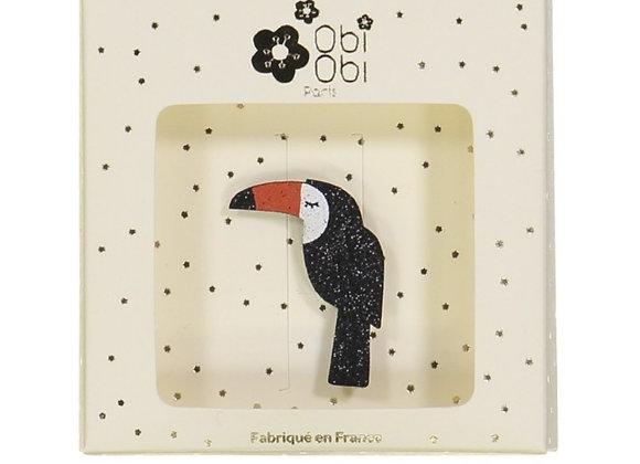 Broche Toucan- Obi obi